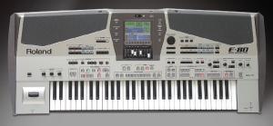 Roland E80 dettaglio
