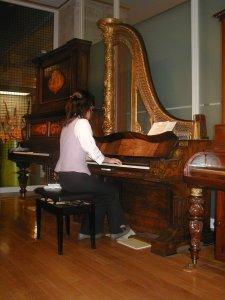 Pianoforte a coda verticale