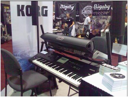 Korg Pa3X e Kronos insieme al Summer NAMM 2001