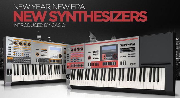 Nuovi sintetizzatori Casio XW-P1 e XW-G1