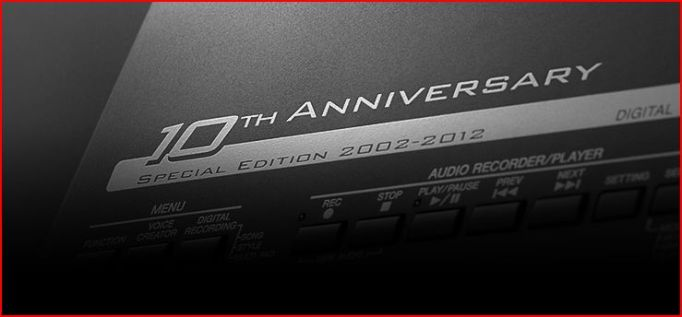 Yamaha 10th Anniversary (2002-2012)