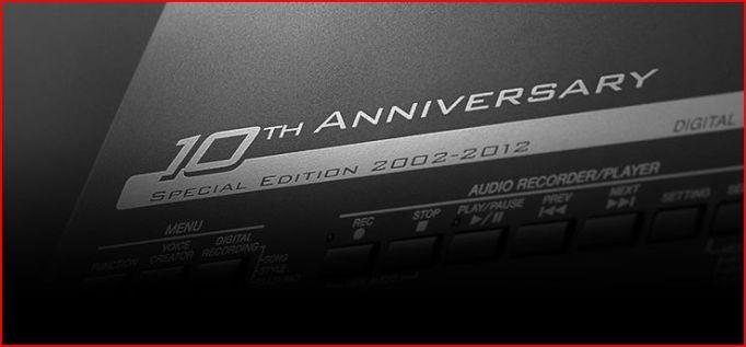 Yamaha 10th Anniversary (2002-2012)