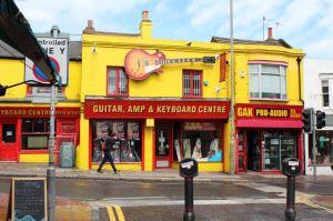 Negozio di strumenti musicali - Brighton (UK)