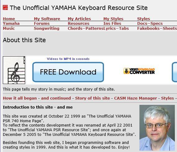JosoSoft - Dalla Danimarca, il portale dedicato agli arranger Yamaha