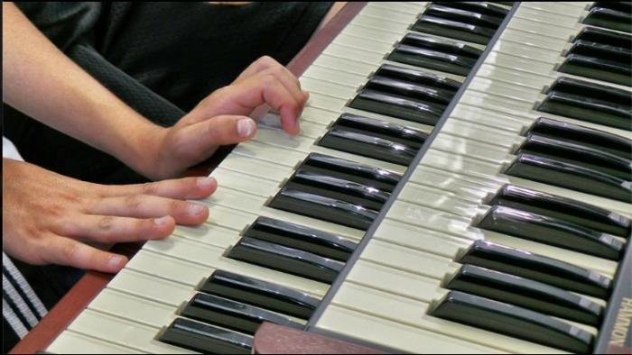Organo Hammond al MIS 2013