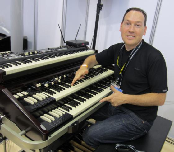 Michael Falkestein - Dimostratore organi Hammond