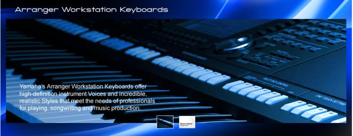 Special site: arranger workstation Yamaha