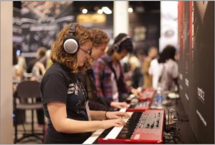 Fiere di strumenti musicali: l'opportunità di provare di persona