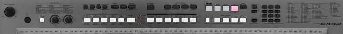 Il pannello di controllo di Yamaha PSR-E443