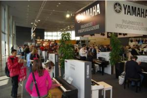 Stand Yamaha al MusikMesse 2014
