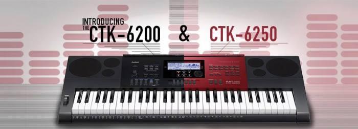Casio CTK-6200 & CTK-6250