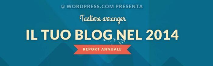 Il rapporto 2014 del blog tastiere.wordpress.com