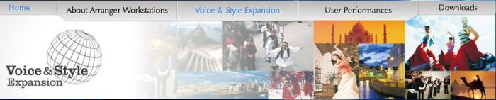 Yamaha Voice & Style Expansion