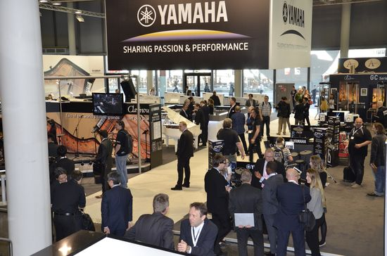 Stand Yamaha al MusikMesse 2015