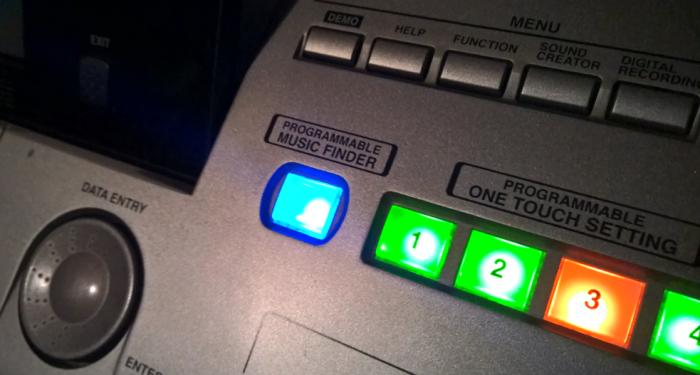 MusicFinder, comoda funzione negli arranger Yamaha