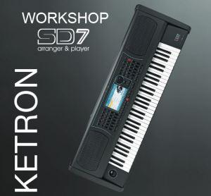Comincia il tour di dimostrazioni di Ketron SD7