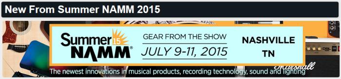 Summer NAMM 2015