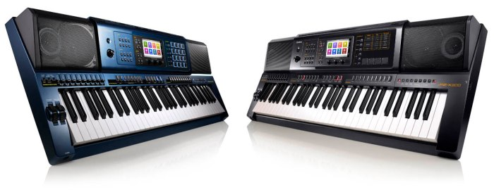 Casio MZ-X300 e MZ-X500