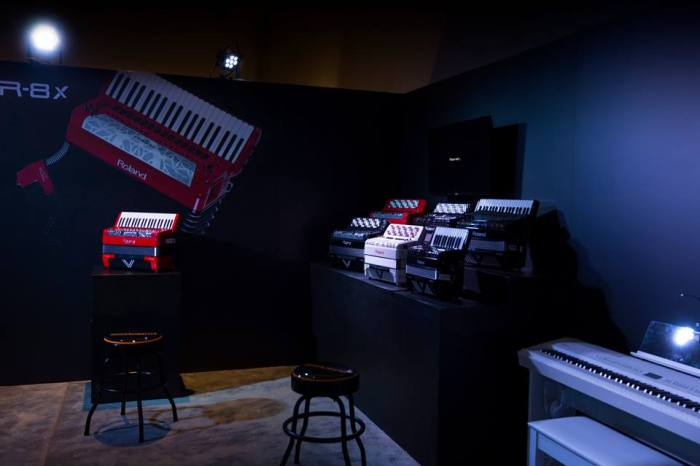 Fisarmoniche Roland al Winter NAMM 2016