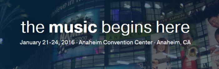 Winter NAMM 2016