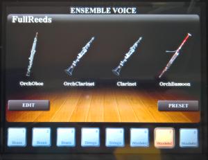 Una voce di Ensemble è fatta di quattro parti