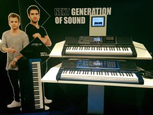 Casio MZ-X500 e MZ-X300 al Musik Messe 2016