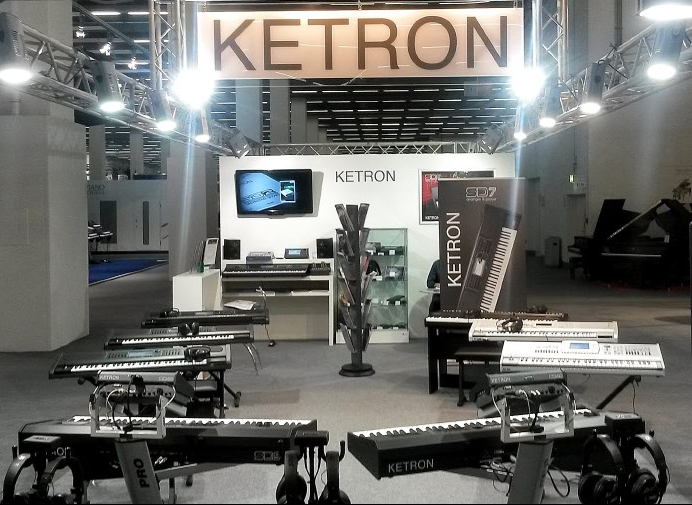 Musik Messe 2016: lo stand Ketron