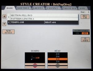 Pagina Basic di Style Creator: tutto comincia qui