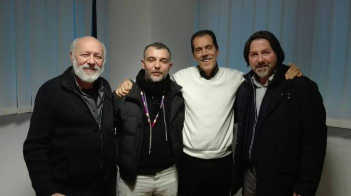 Sandro Fontanella (Ketron), Antonio Rizzato (forum), Marcello Colò (Ketron) e Filippo Liguori (forum)