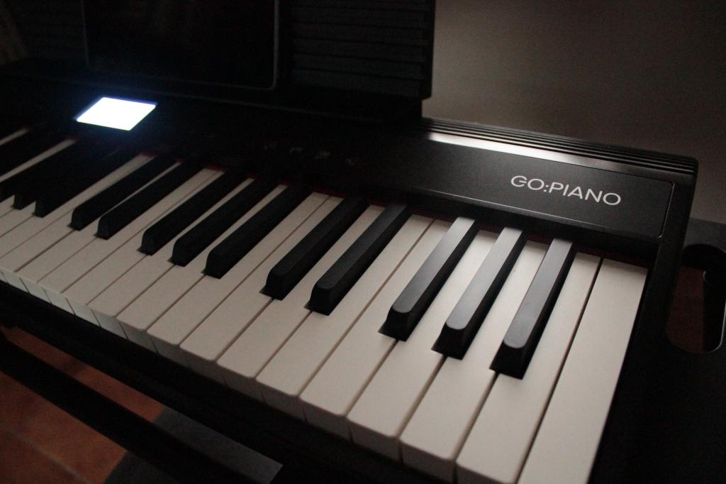 Roland GO:PIANO con sezione arranger grazie all'applicazione Piano Partner 2